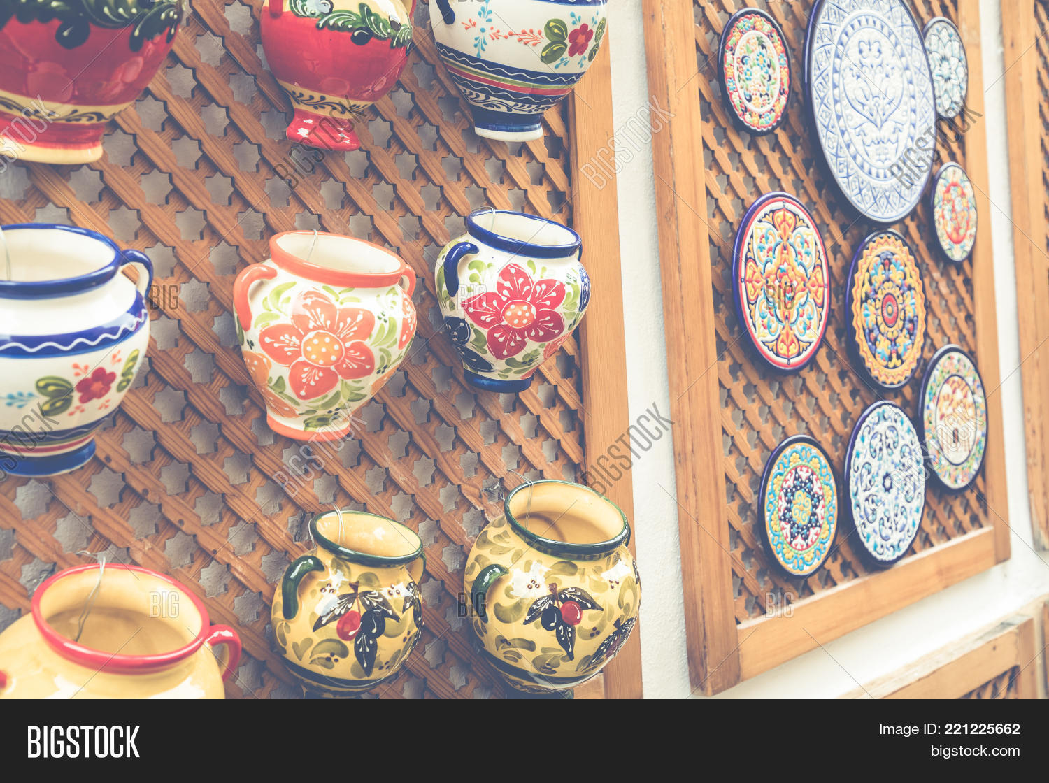 Ceramics Plates Local Image & Photo (Free Trial) | Bigstock