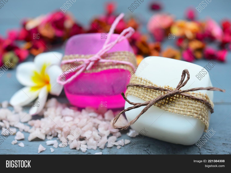 Handmade Spa Soap Closeup. Organic Image & Photo | Bigstock