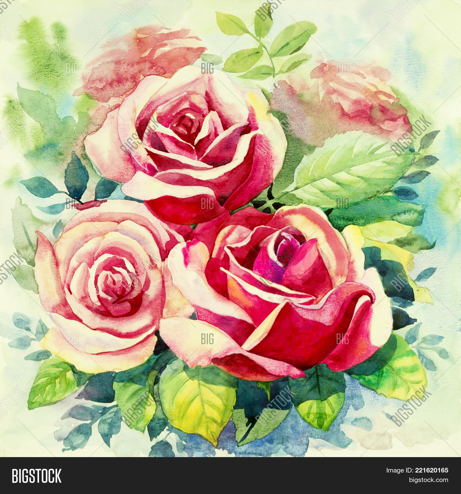 Watercolor Painting Image & Photo (Free Trial) | Bigstock