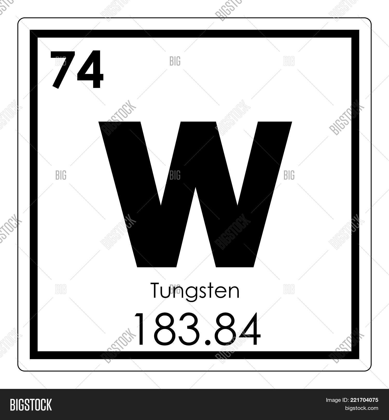 Tungsten Chemical Image Photo Free Trial Bigstock