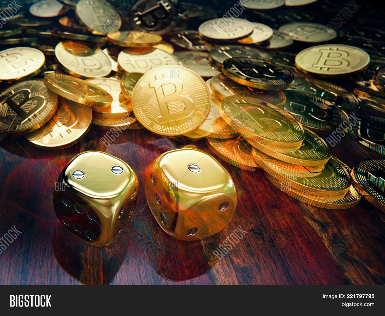 Bitcoin Dice Gambling Image & Photo (Free Trial) | Bigstock