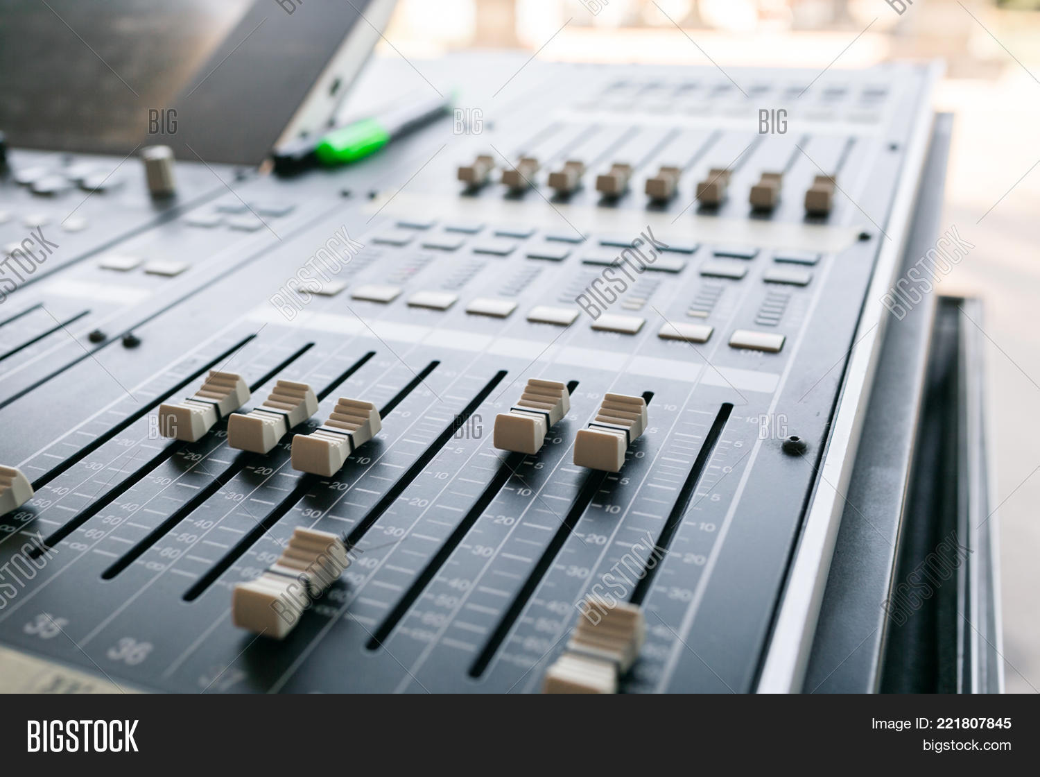 Music Mixer Equalizer Image & Photo (Free Trial) | Bigstock