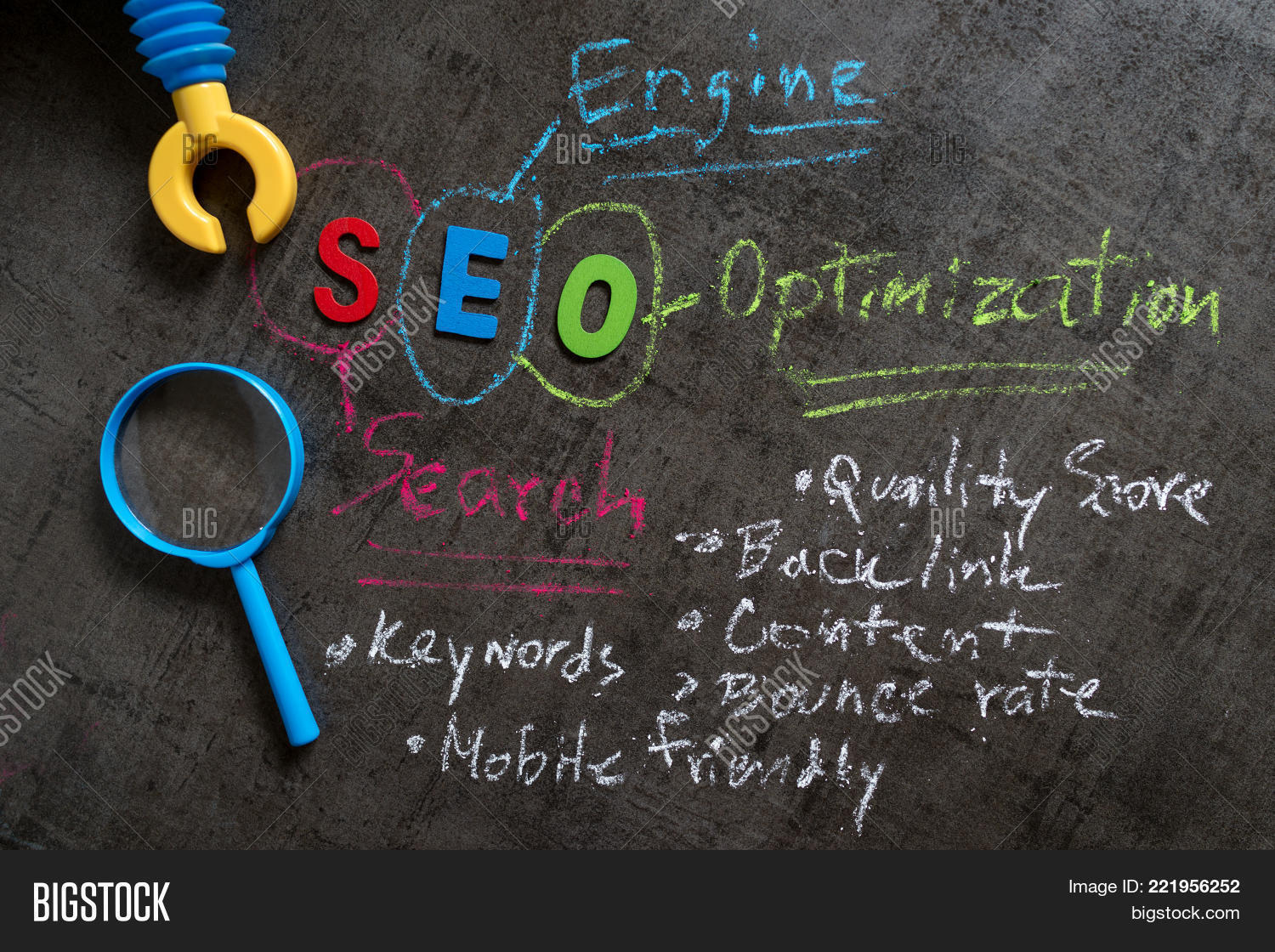 Seo Search Engine Image Photo Free Trial Bigstock