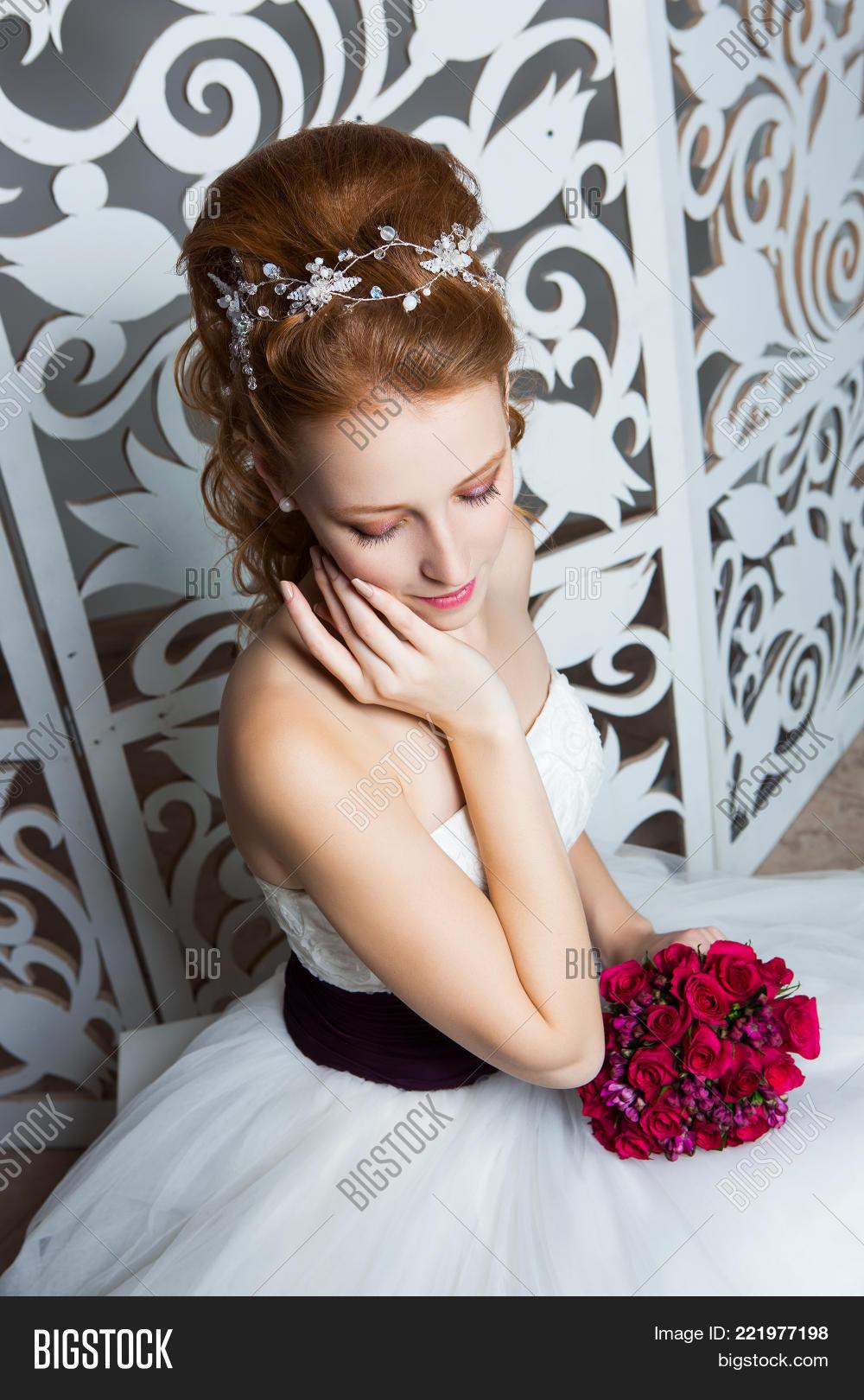 Beautiful Red Hair Image Photo Free Trial Bigstock