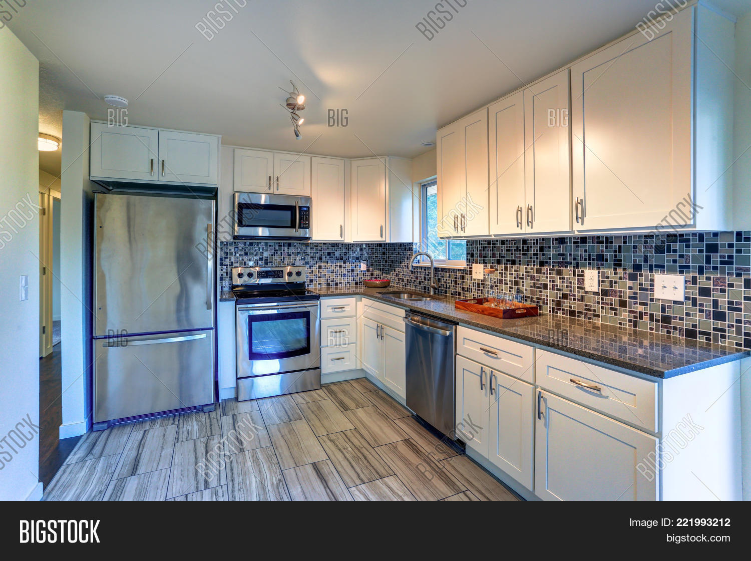 - L-shape Kitchen Room Image & Photo (Free Trial) Bigstock