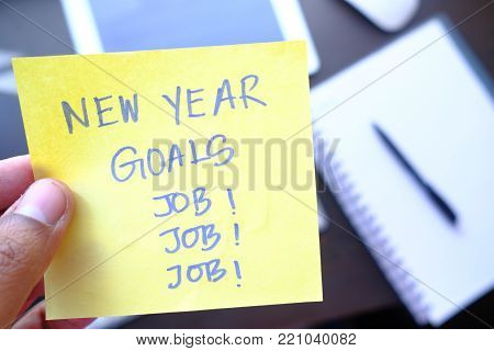 new year goas in finding new jobs here