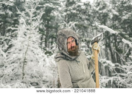 Skincare And Beard Care In Winter.