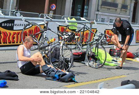 International Triathlon 2011, Geneva, Switzerland