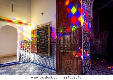Bahia Palace Ceiling, Marrakech