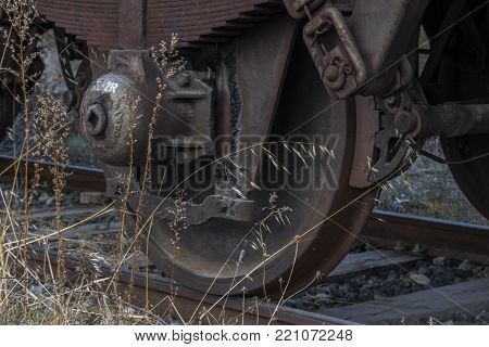 Urbex. Abandoned Train Wagon