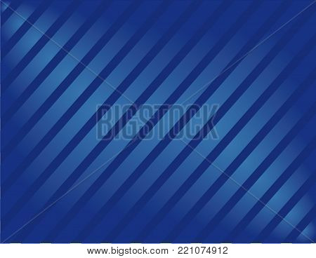 abstract moder blue horizontal blue shiny background