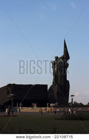 Monument Liberators Of Donbass