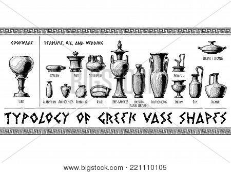 Typology Greek Vase Vector Photo Free Trial Bigstock