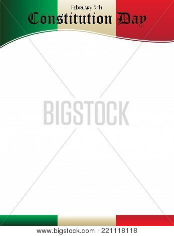 mexican constitution vector photo free trial bigstock
