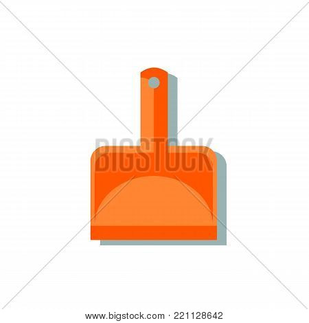 Scoop cleaning icon. Simple illustration of scoop vector icon for web