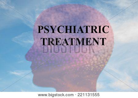 Psychiatric Treatment Concept