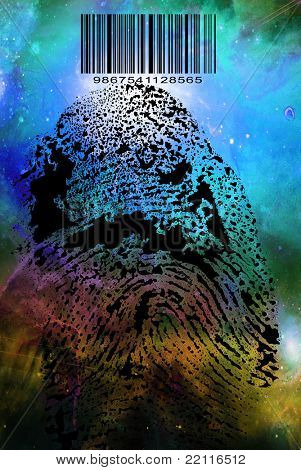 Fingerprint Barcode