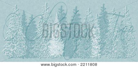 O Christmas Tree Christmas Card Background