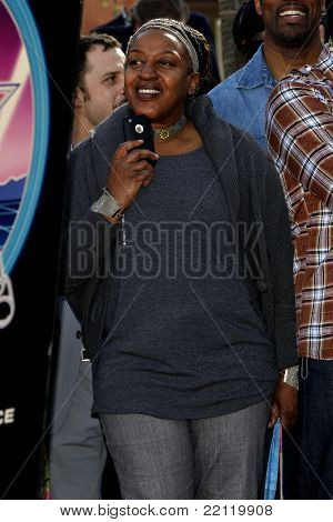 LOS ANGELES - DEC 18: CCH Pounder at a ceremony as James Cameron receives a star on the Hollywood Walk of Fame in Los Angeles, California on December 18, 2009