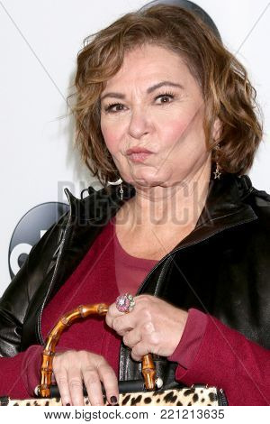 LOS ANGELES - JAN 8:  Roseanne Barr at the ABC TCA Winter 2018 Party at Langham Huntington Hotel on January 8, 2018 in Pasadena, CA