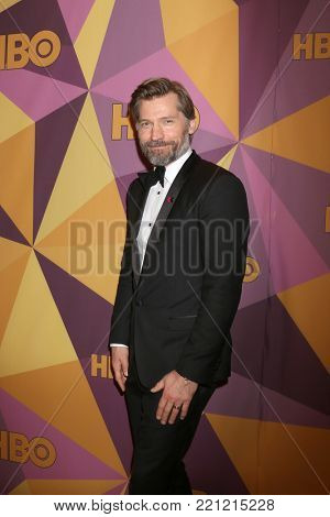 LOS ANGELES - JAN 7:  Nikolaj Coster-Waldau at the HBO Post Golden Globe Party 2018 at Beverly Hilton Hotel on January 7, 2018 in Beverly Hills, CA