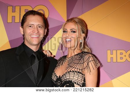 LOS ANGELES - JAN 7:  Clifton Collins Jr, Carmen Electra at the HBO Post Golden Globe Party 2018 at Beverly Hilton Hotel on January 7, 2018 in Beverly Hills, CA