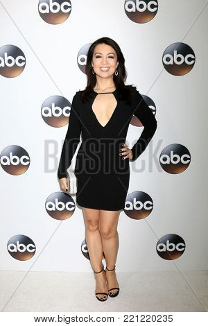 LOS ANGELES - JAN 8:  Ming-Na Wen at the ABC TCA Winter 2018 Party at Langham Huntington Hotel on January 8, 2018 in Pasadena, CA