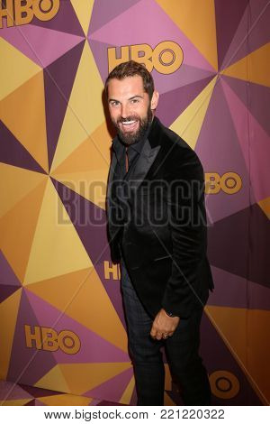 LOS ANGELES - JAN 7:  Daniel MacPherson at the HBO Post Golden Globe Party 2018 at Beverly Hilton Hotel on January 7, 2018 in Beverly Hills, CA