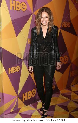 LOS ANGELES - JAN 7:  Amy Brenneman at the HBO Post Golden Globe Party 2018 at Beverly Hilton Hotel on January 7, 2018 in Beverly Hills, CA