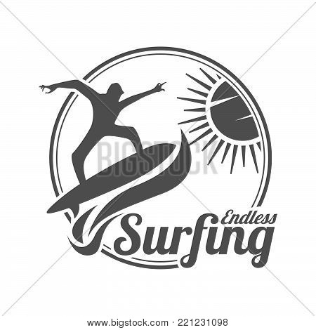 Endless Surfing Vector Photo Free Trial