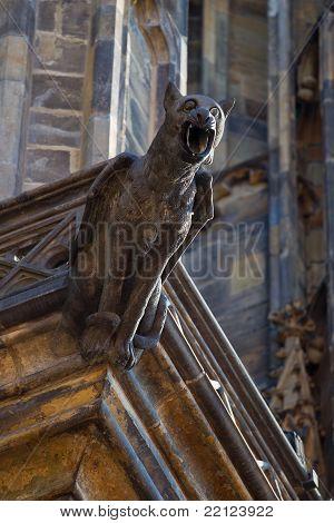 Gargoyle In Prague
