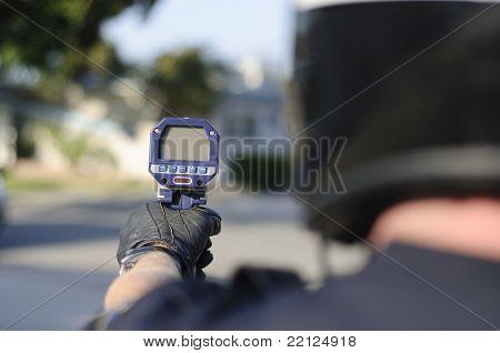 radar gun