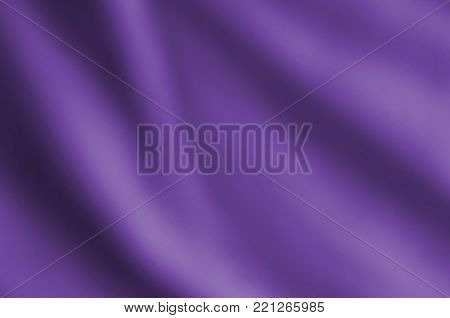 Softly Draping Violet Fabric