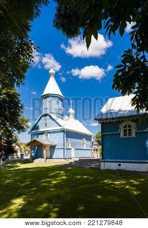orthodox church, Stary Kornin, Podlaskie Voivodeship, Poland