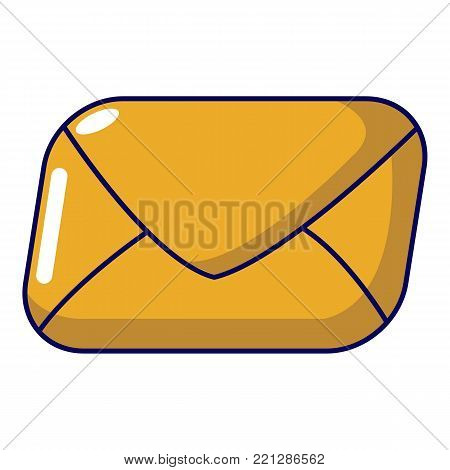 Mail icon. Cartoon illustration of mail vector icon for web