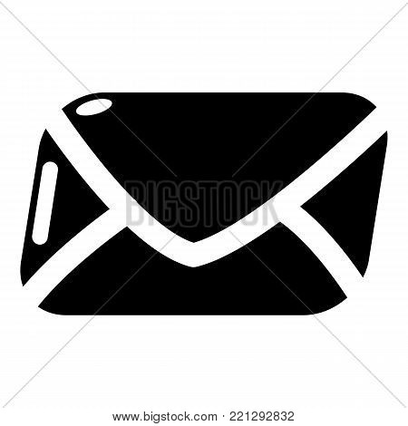 Mail icon. Simple illustration of mail vector icon for web