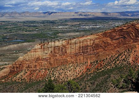 Grand Junction Colorado is the home of the Colorado National Monument