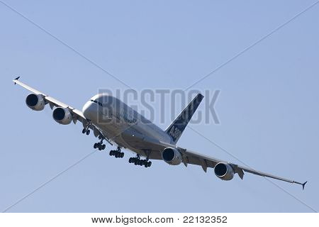 Airbus A380 Commercial Jet