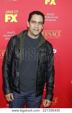 LOS ANGELES - JAN 8:  Jose Zuniga at the