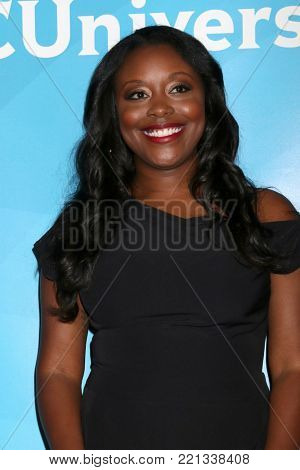 LOS ANGELES - JAN 9:  Lyric Lewis at the NBC TCA Winter Press Tour at Langham Huntington Hotel on January 9, 2018 in Pasadena, CA