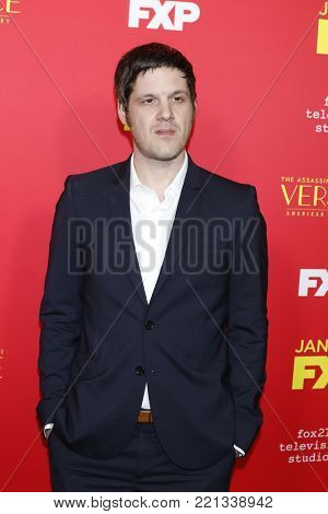 LOS ANGELES - JAN 8:  Michael Esper at the