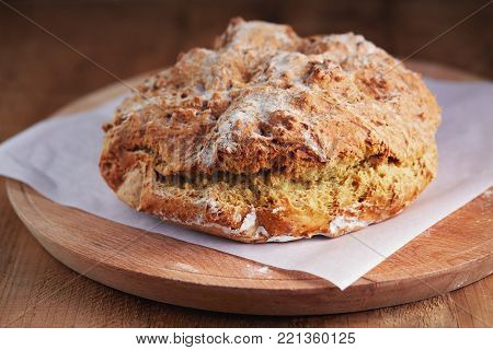 Irish soda bread with whole wheat flour