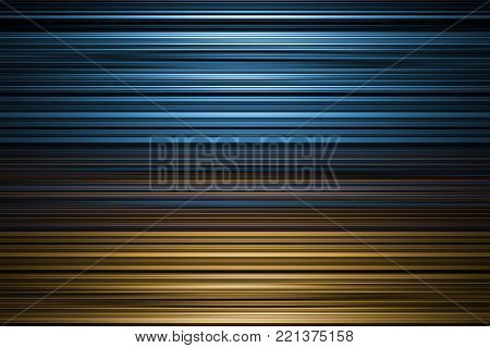 A blue and yellow blurred stripes background
