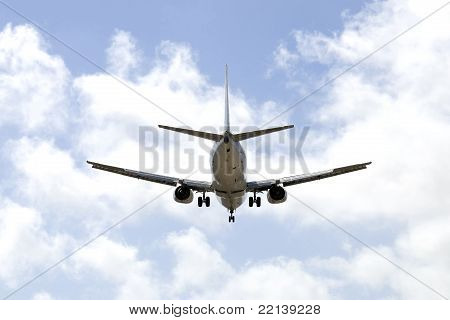 Aircraft On A Blue Sky