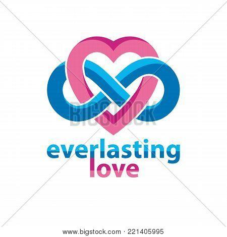 Everlasting Love Vector Photo Free Trial Bigstock