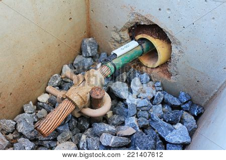 Grounding Electrode Inspection Pit of Electrical System