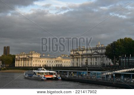 Old Royal Naval College in London, England, October 3rd, 2017