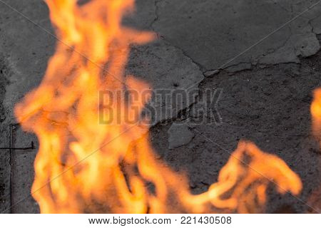 abstract background of a flame of fire .