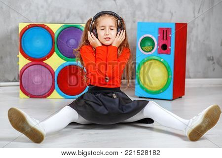 The Child Listens To Singing And Listens To The Song In The Head