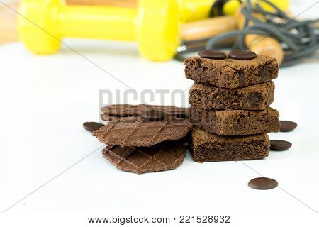 brownie weight exercise equipment unhealthy image colordul